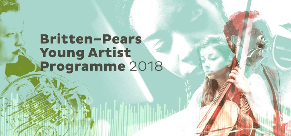 Photo of the Britten-Pears Young Artists Programme in 2018.