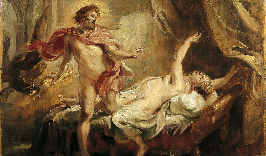 The Death of Semele, Rubens (1577-1640)